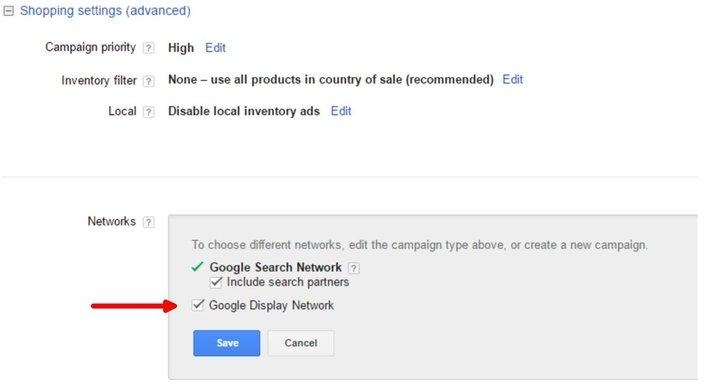 direct?url=http%3A%2F%2Fsearchengineland.com%2Ffigz%2Fwp content%2Fseloads%2F2017%2F05%2Fgoogle shopping gdn settings - Google test Shopping advertenties in het Display Netwerk