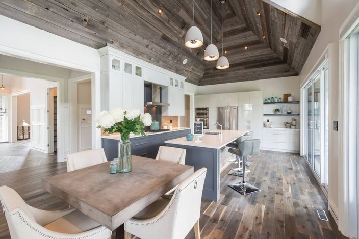 15 Beautiful Wood Floors In The Kitchen - essentialsinside