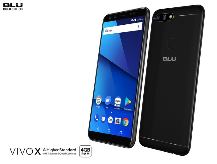 Blu Vivo X dolazi sa 4 kamere