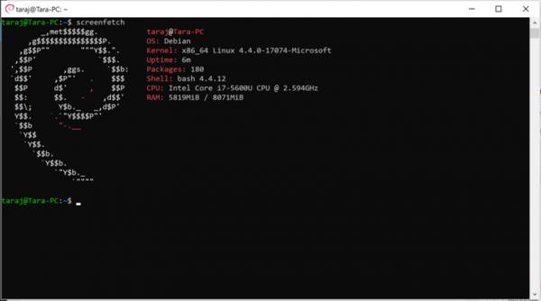 Debian GNU/Linux je dostupan u Windows 10 prodavnici