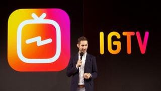Instagram pins hopes on IGTV's vertical video