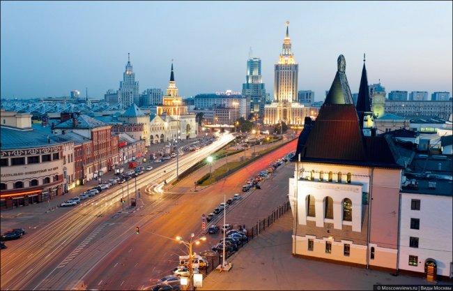 Plaza de las tres estaciones - Leningrado, Yaroslavl, Kazan