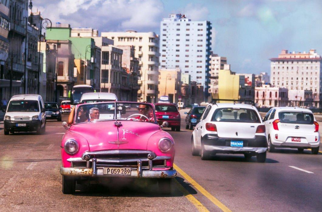 Taxi en el Malecón