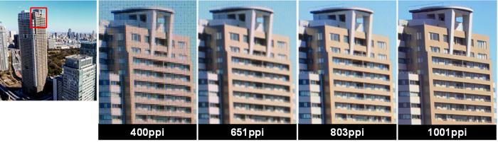 JPI sprema LCD sa 1001 ppi za VR naočare