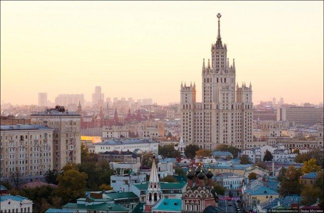 Rascacielos de Stalin