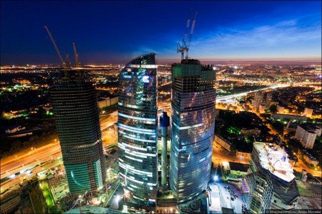 El complejo de Moscú-City, North.