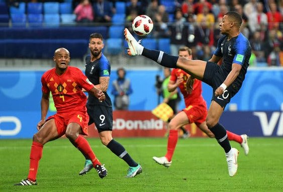 Kylian Mbappé of France emerged as the breakout star of this World Cup.  Foto de  James Hill for The New York Times 964c798493a79