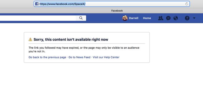 Ilon Mask obrisao Tesla i SpaceX stranice sa Fejsbuka