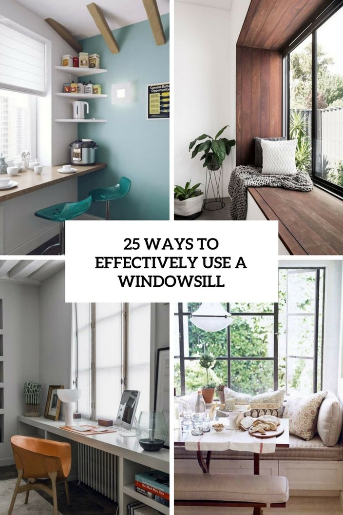Lack Of Space Is The Most Frequent Problem In Modern Dwellings And Using Every Inch Essential A Windowsill Often Left Without Attention