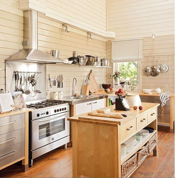 25 Trendy Freestanding Kitchen Cabinet Ideas - essentialsinside